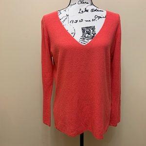 Boston Proper V-Neck Sweater Size Small